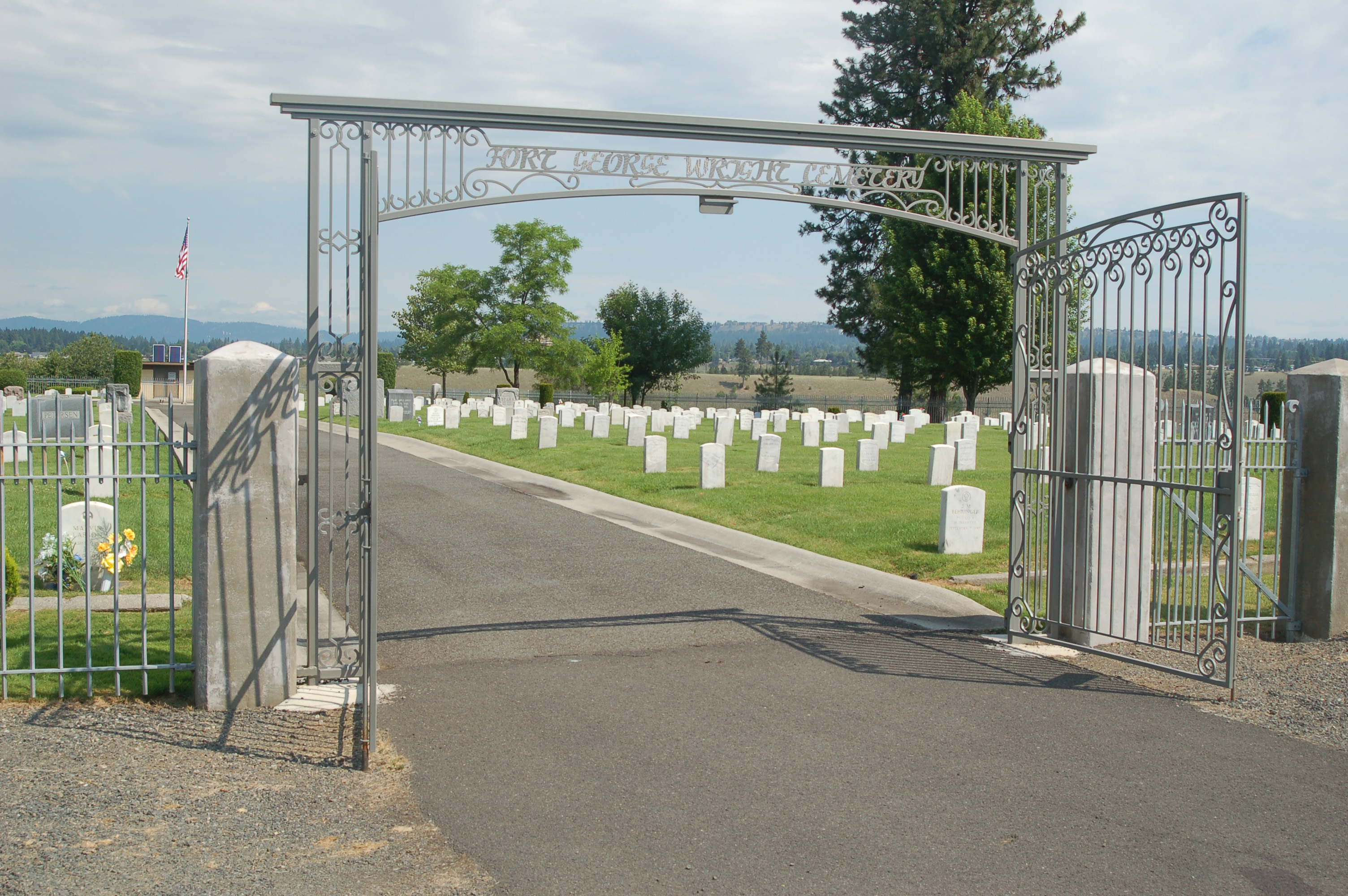 Fort George Wright Cemetery