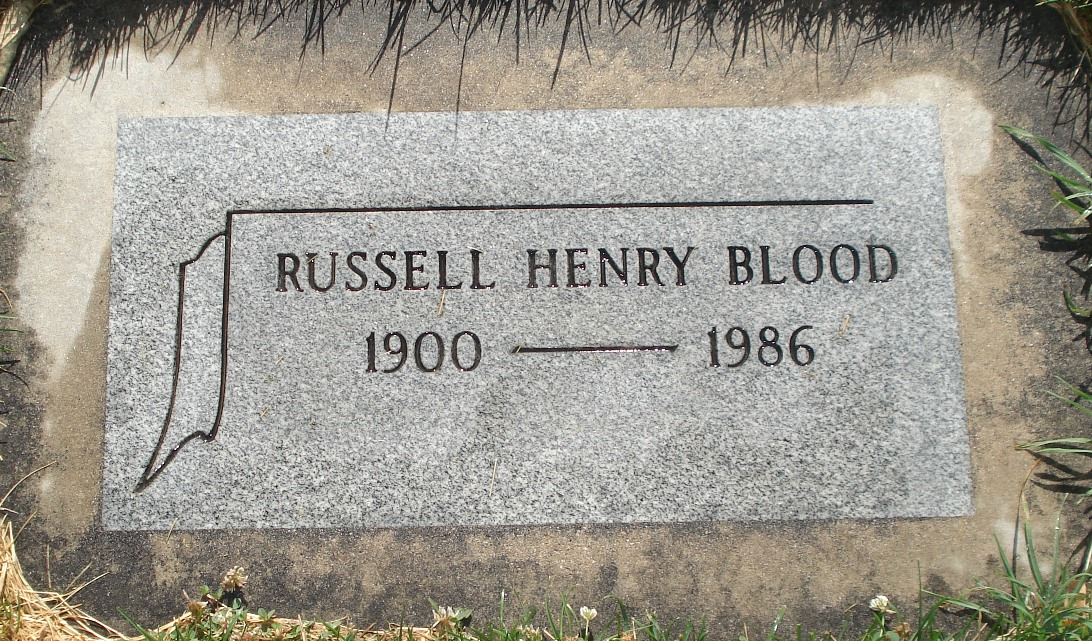 Dr Russell Henry Blood