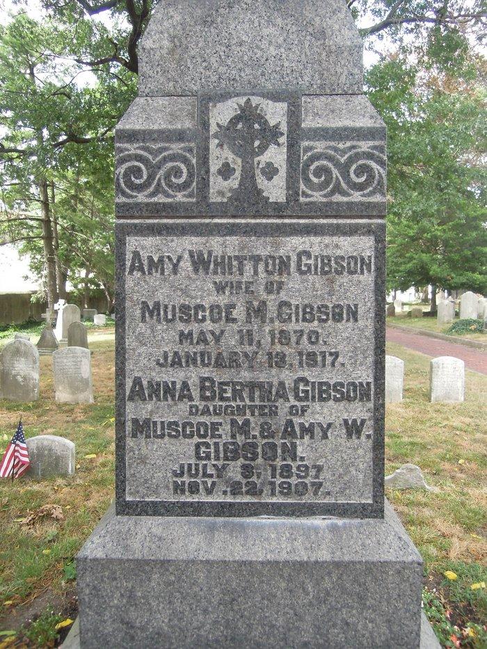 Anna Bertha Gibson
