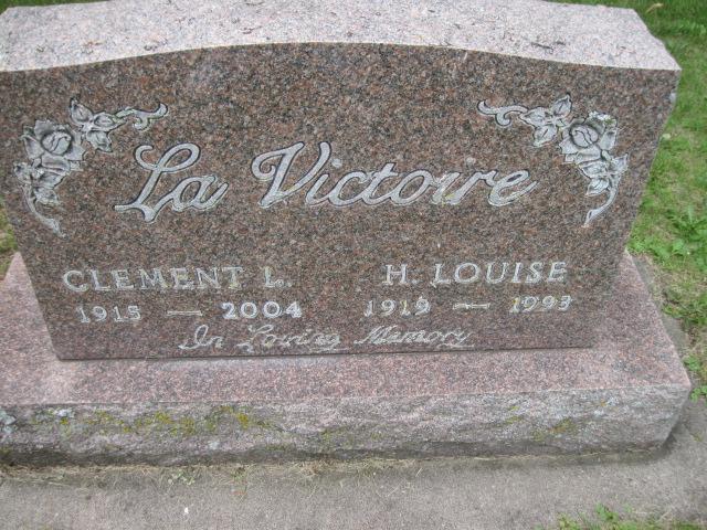 Helen Louise <i>Swedberg</i> LaVictoire