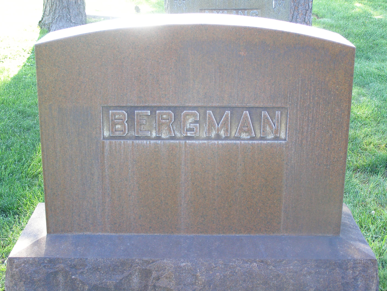 Margaret <i>Johnson</i> Bergman