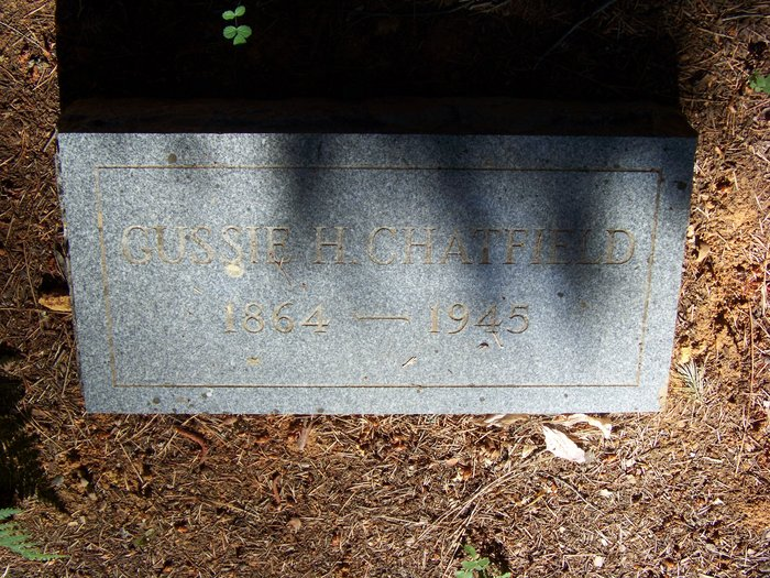 Augusta H. Gussie <i>Wood</i> Chatfield