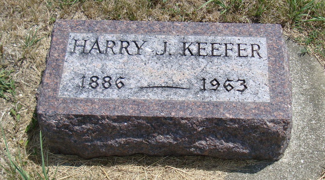 Harry J Keefer
