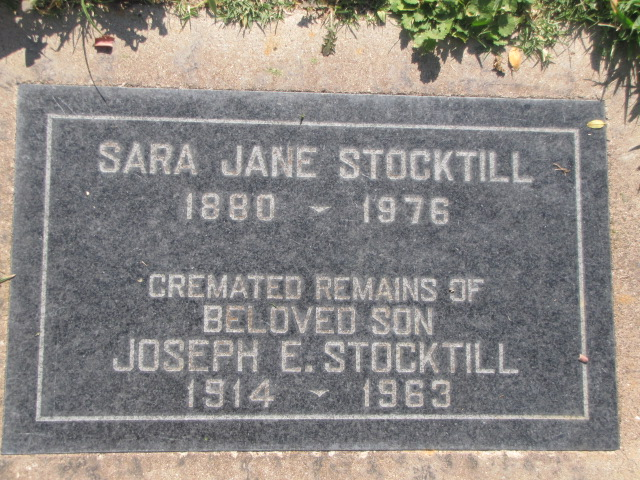 Joseph Edmund Stocktill