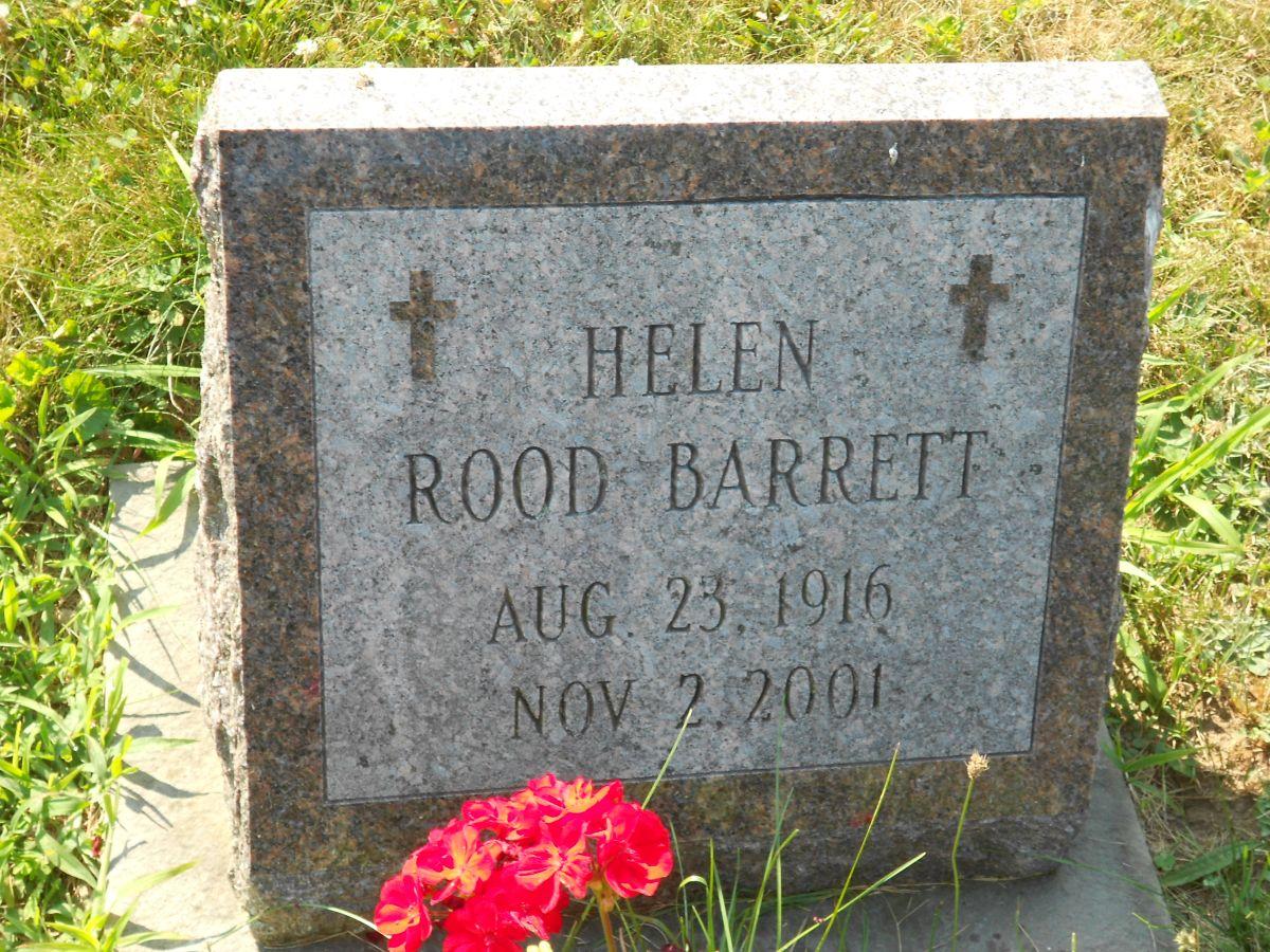 Helen <i>Rood</i> Barrett