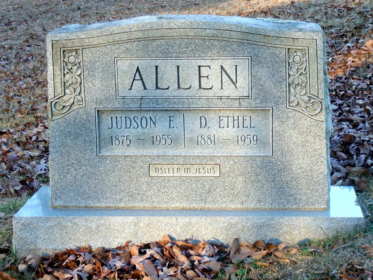 Dora Ethel Allen