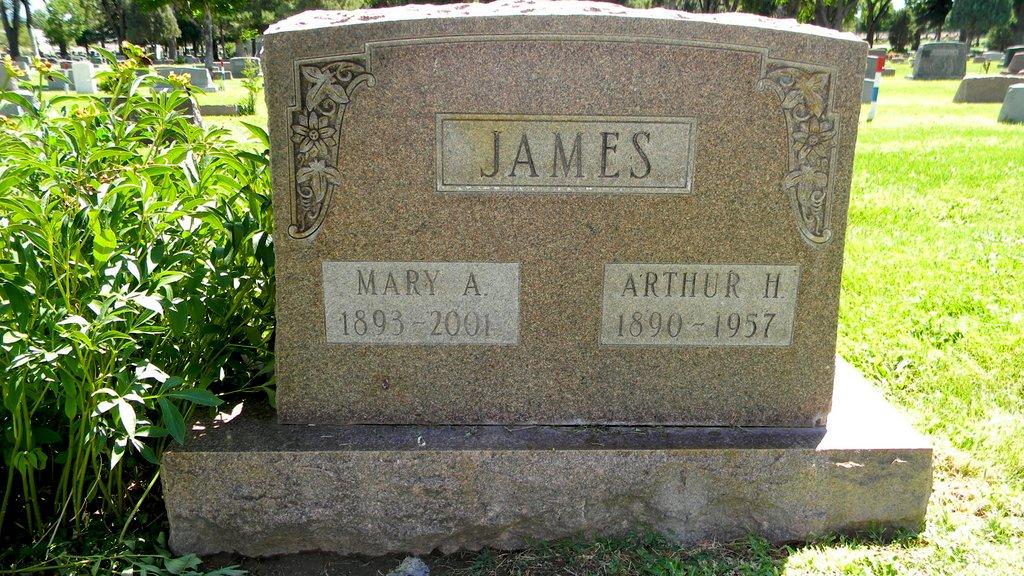 Mary Alice <i>Demicell</i> James