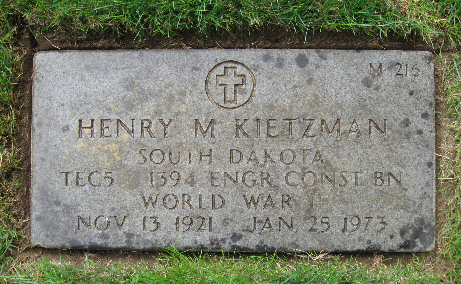 Henry M Kietzman