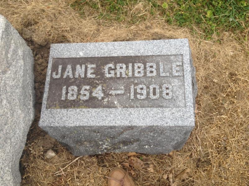 Sarah Jane <i>Bender</i> Gribble