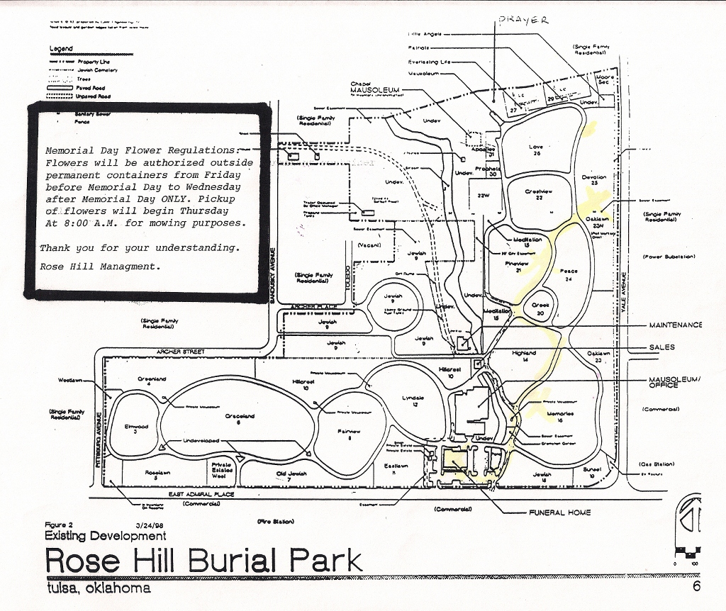 Rose Hill Memorial Park In Tulsa Oklahoma Find A Grave Cemetery