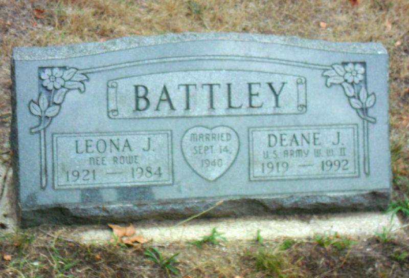 Leona J. <i>Rowe</i> Battley