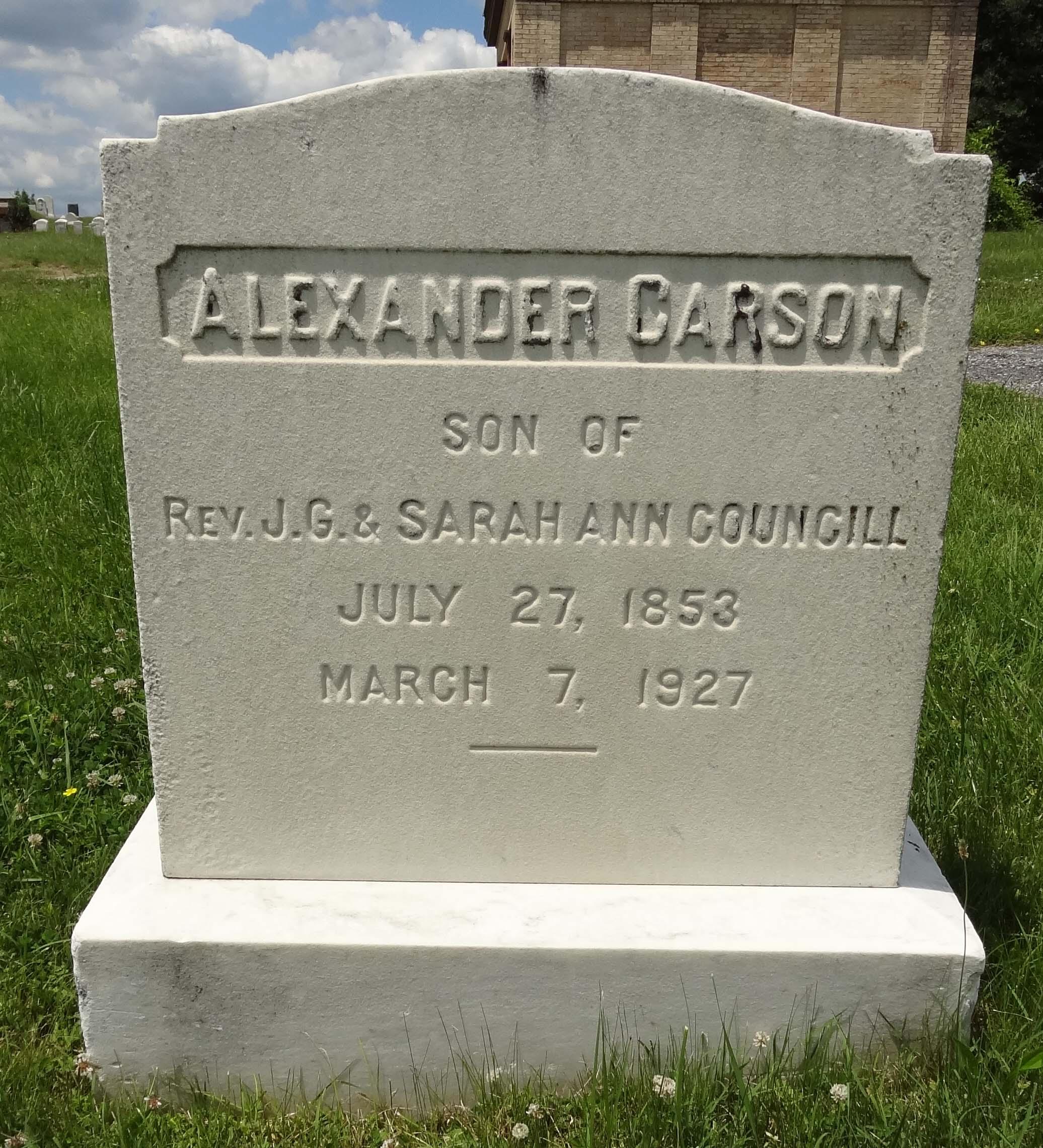 Alexander Councill