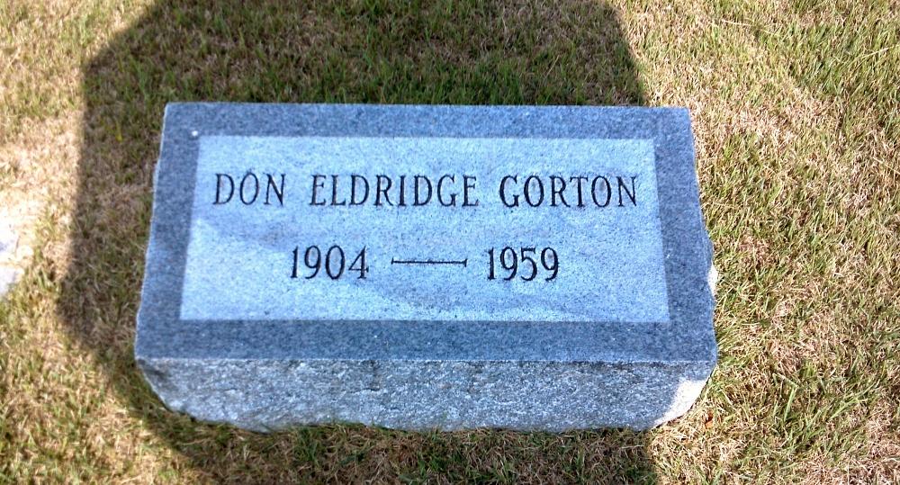 Don Eldridge Gorton