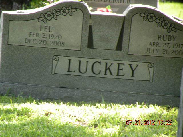 Ruby Joe <i>Whiteley</i> Luckey