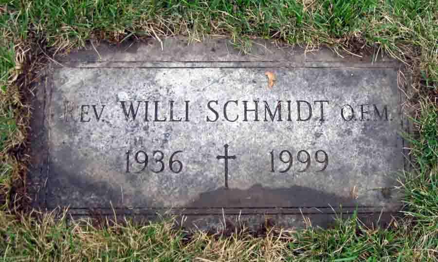 Rev Willi Schmidt OFM