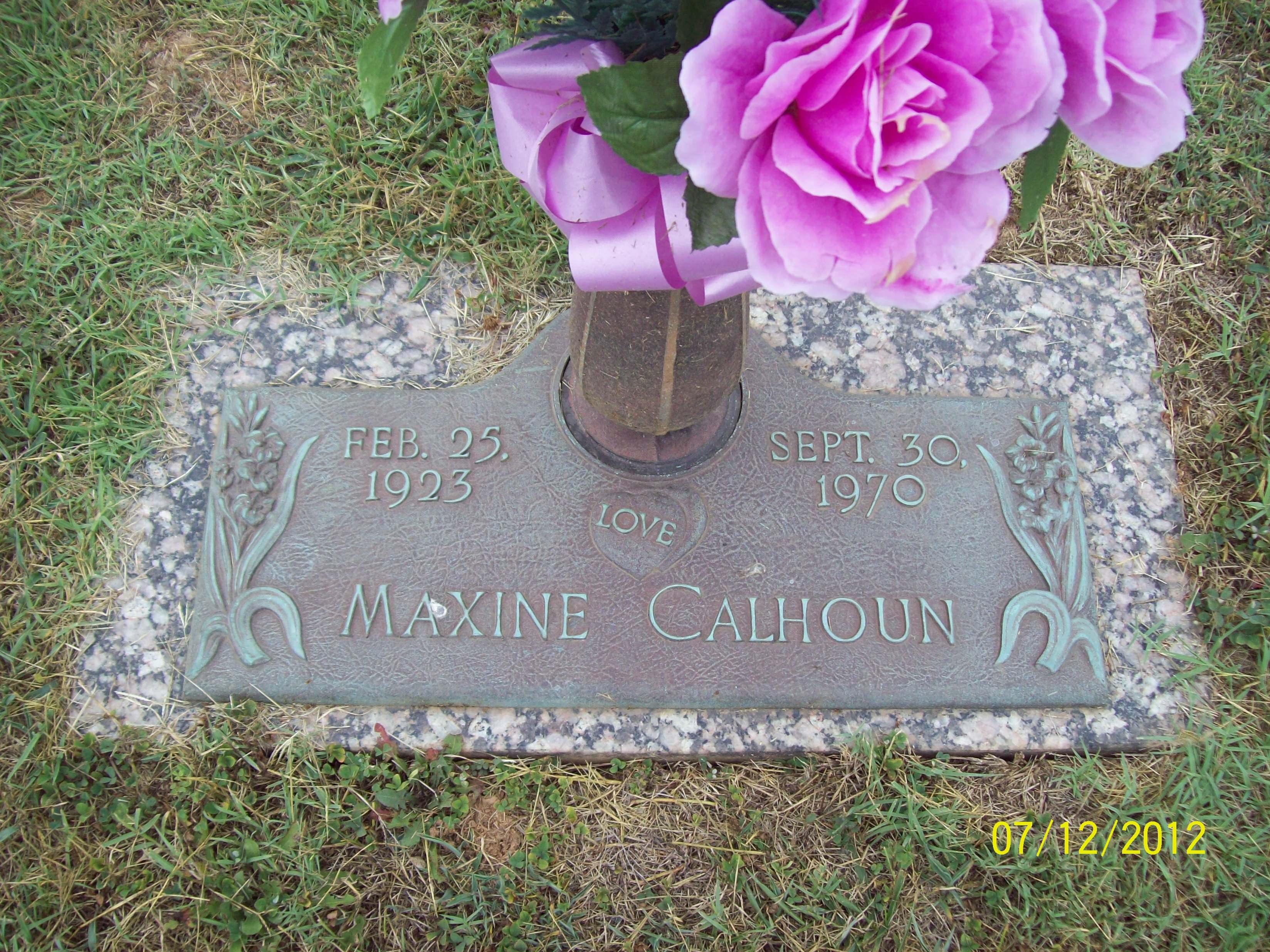 Alma Maxine <i>Correll</i> Calhoun