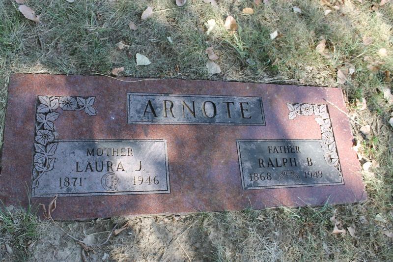 Laura Jane <i>Bailey</i> Arnote
