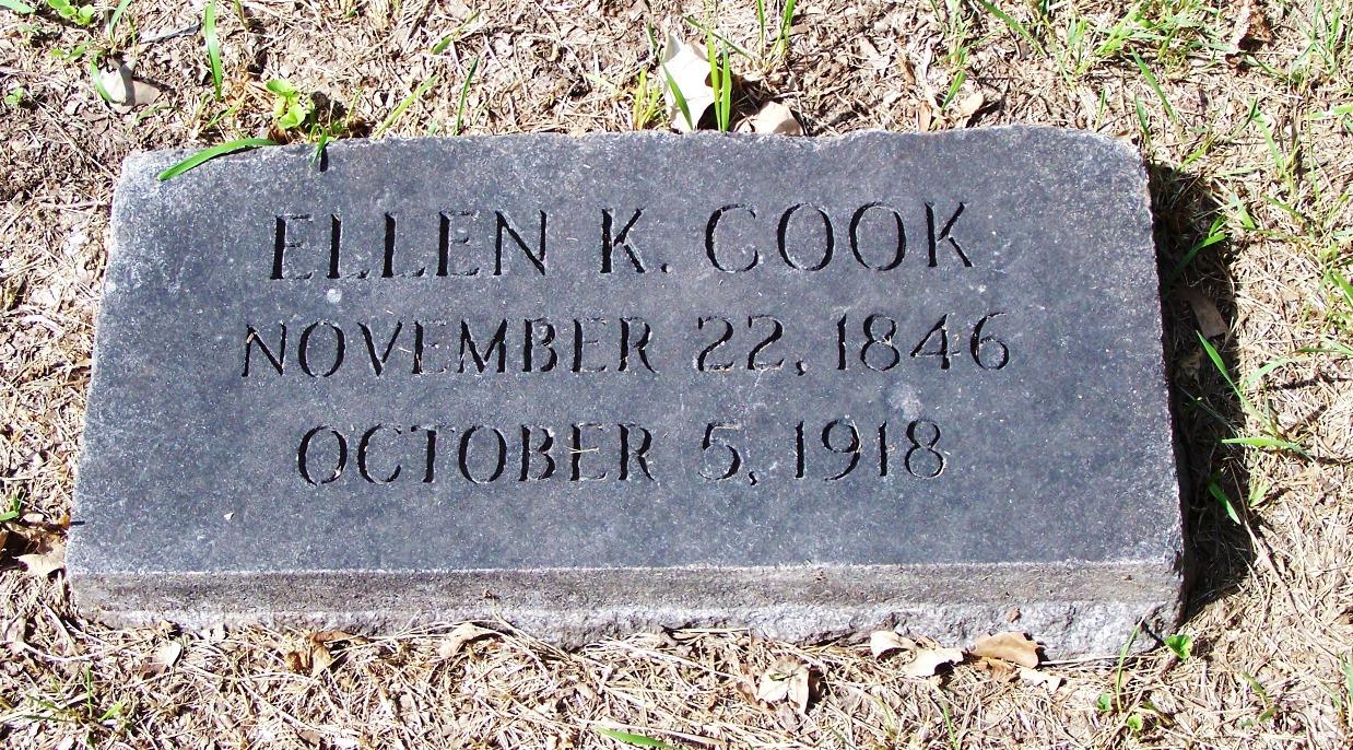 Ellen Katherine Kate <i>Dodge</i> Cook