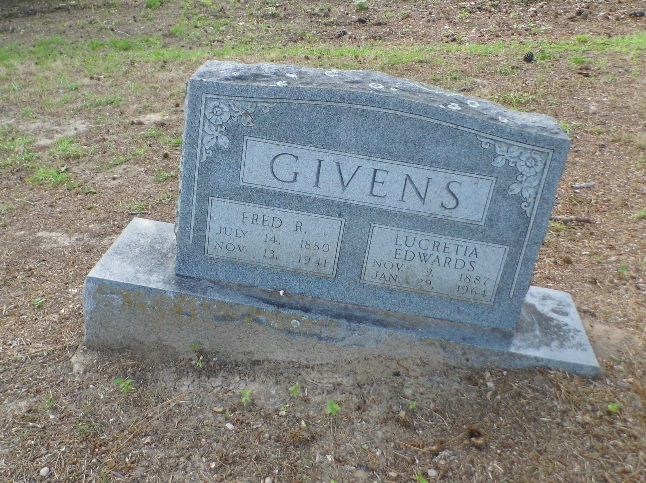 Lucretia <i>Edwards</i> Givens