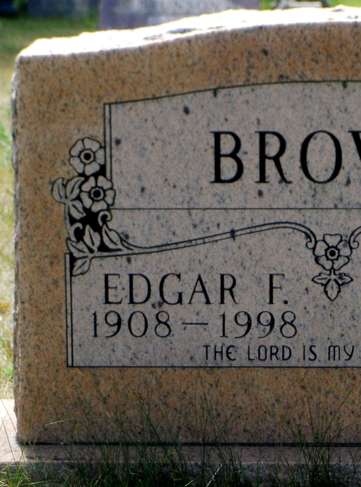 Edgar F. Brown
