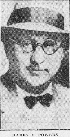 Harry F  Powers (1892-1932) - Find A Grave Memorial