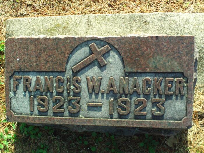 Francis W. Anacker