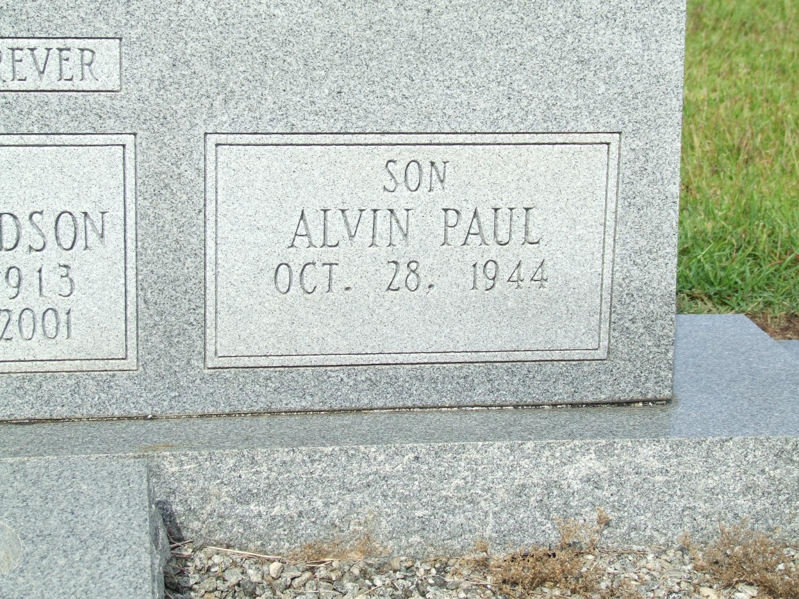 Alvin Paul Barton