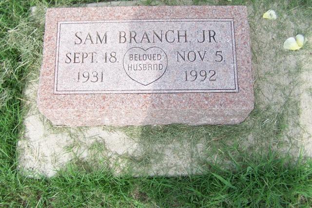 Sam Branch, Jr