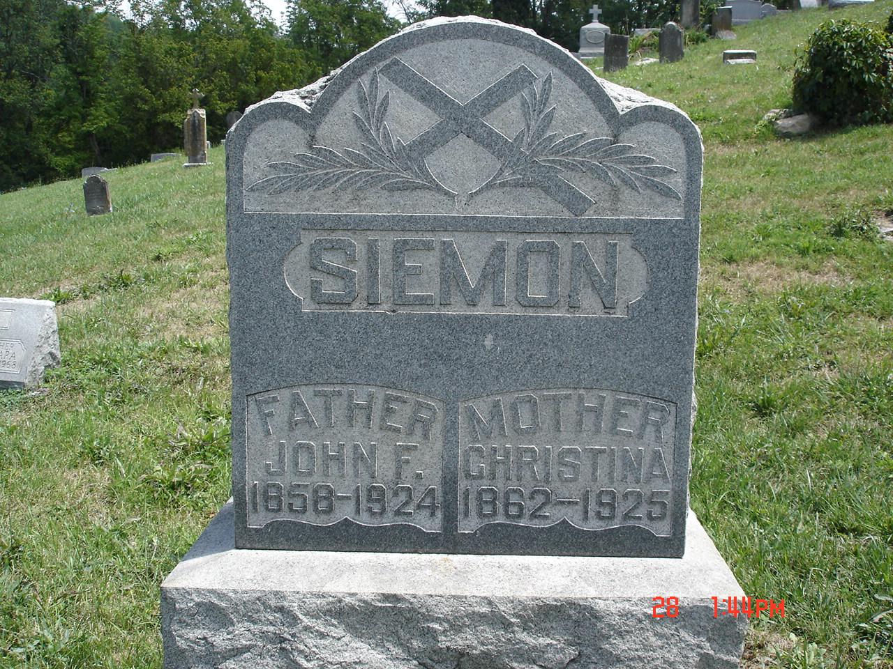 Christina <i>Schnabel</i> Siemon