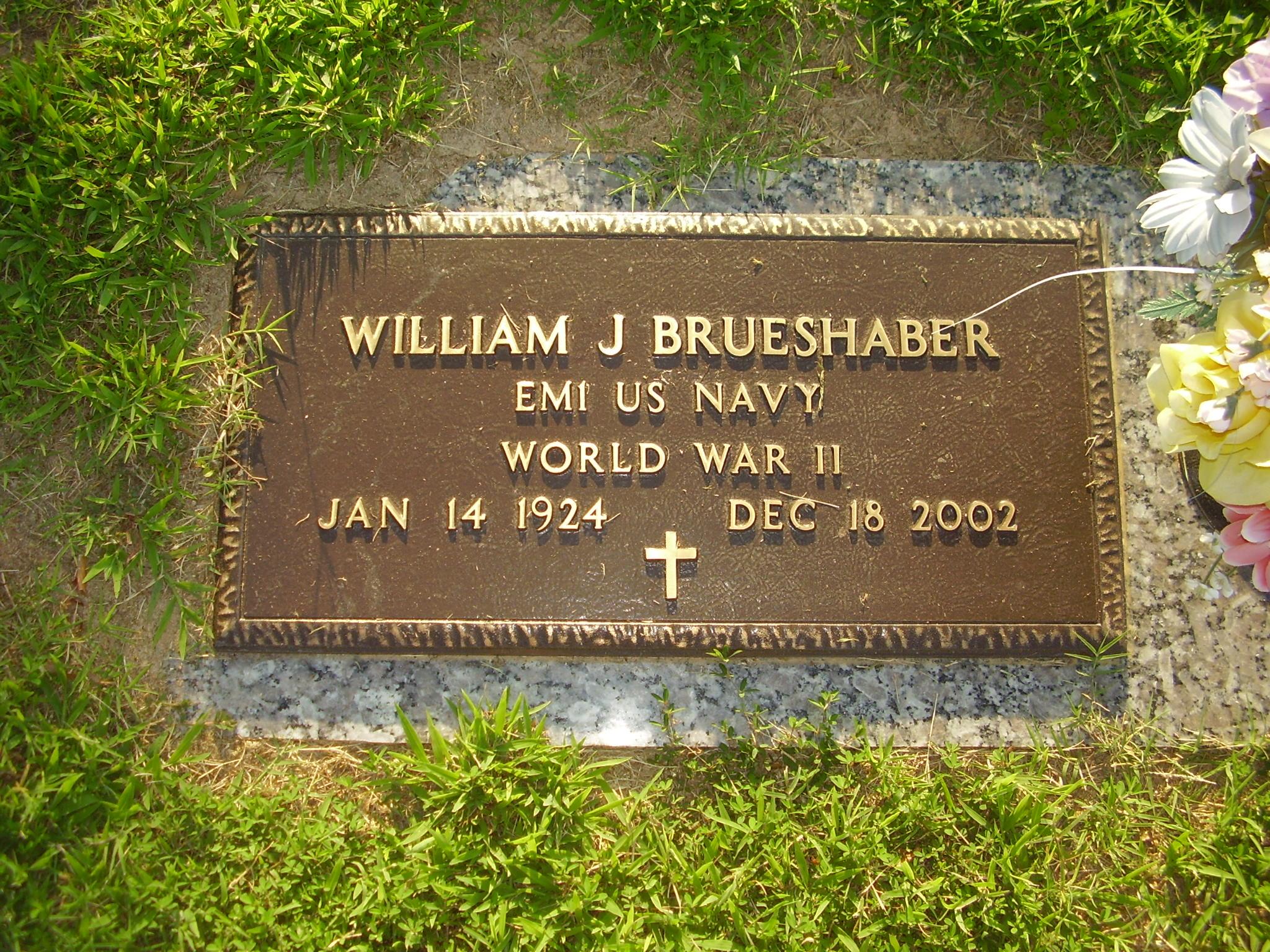 William J Brueshaber