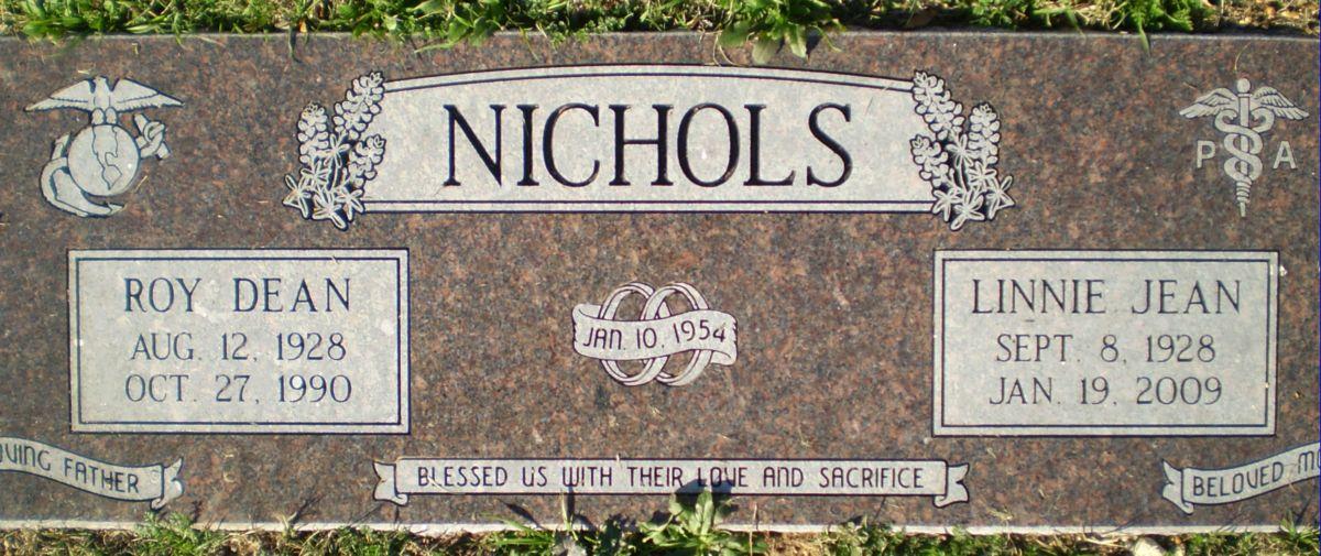 Linnie Jean <i>Amyett</i> Nichols