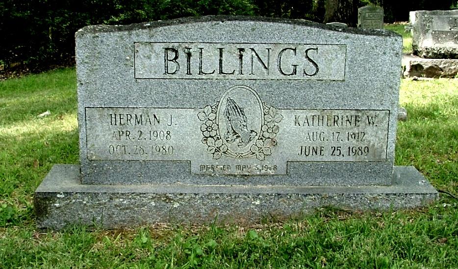 Katherine <i>Watson</i> Billings