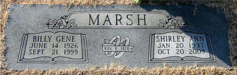 Shirley Ann <i>Harless</i> Marsh
