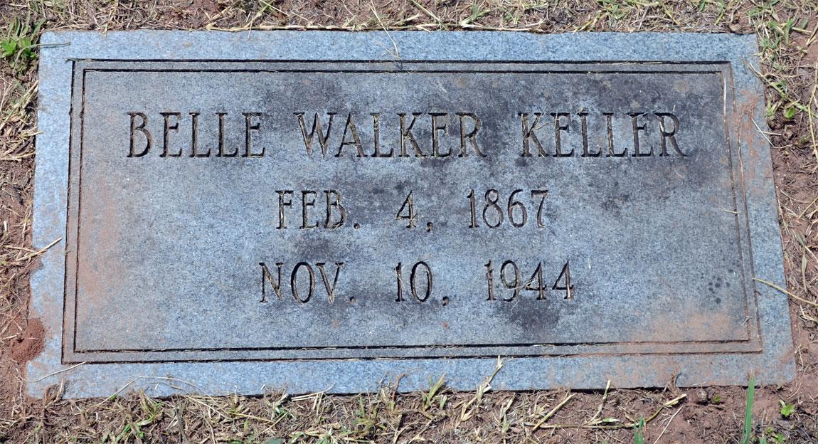 Belle Mary <i>Walker</i> Keller