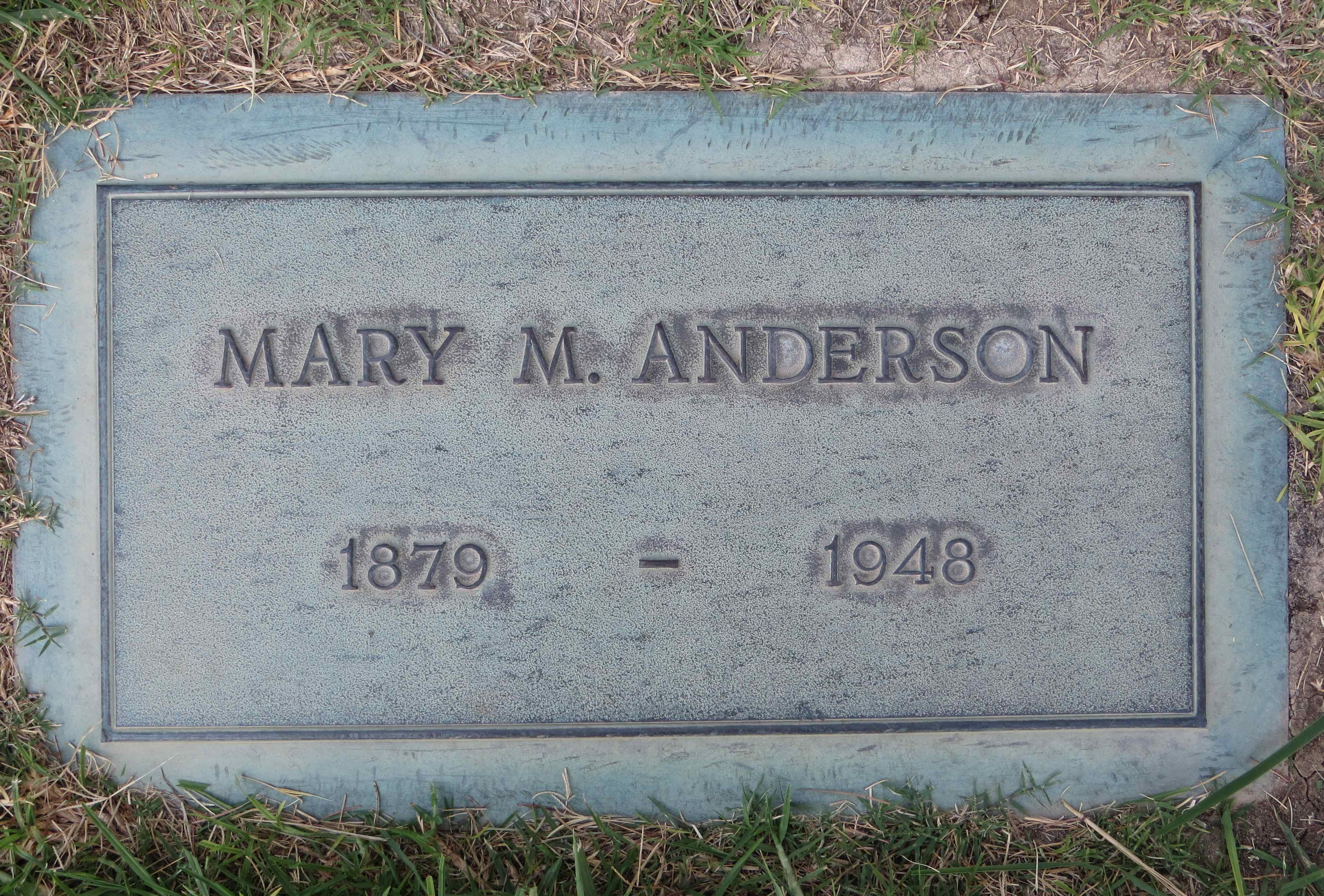 Mary Margaret <i>Fitzgerald</i> Anderson