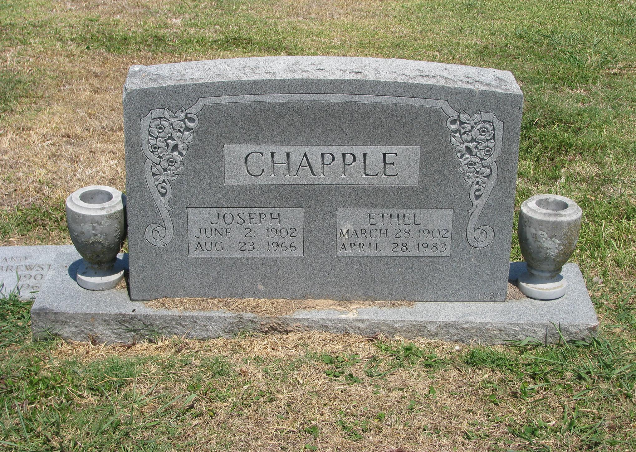 Ethel <i>Abram</i> Chapple
