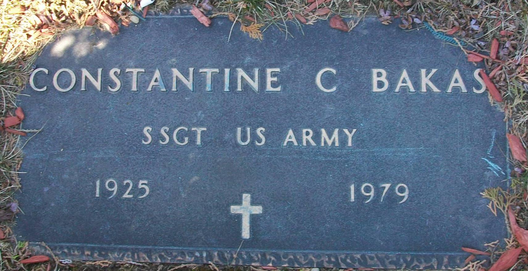 Constantine C. Bakas