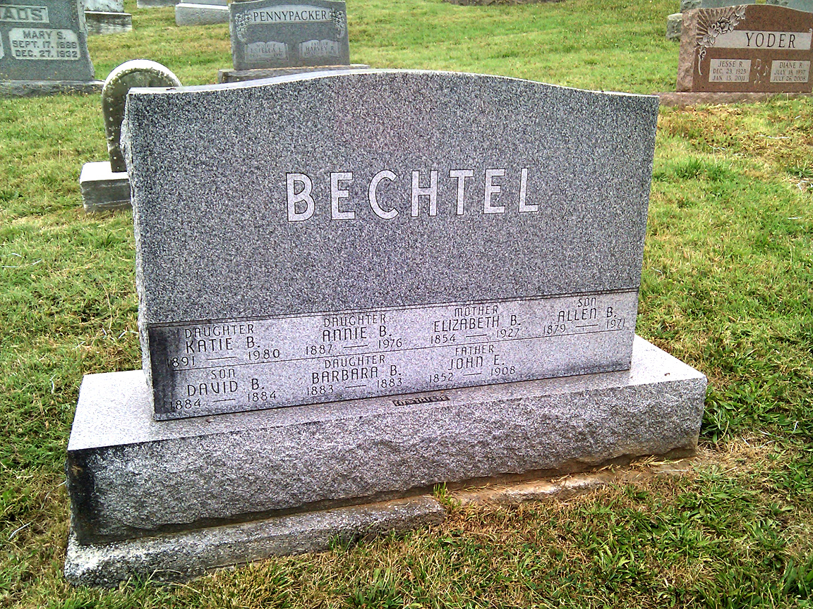 Elizabeth B. <i>Bower</i> Bechtel