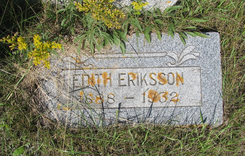 Edith <i>Eriksson</i> Eckdahl
