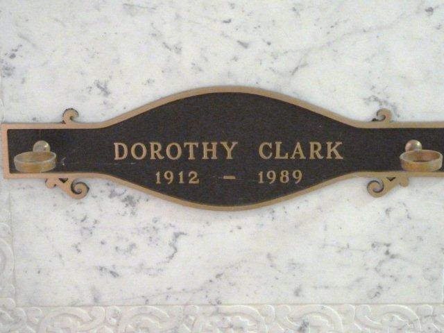 Dorothy <i>Griffin</i> Clark