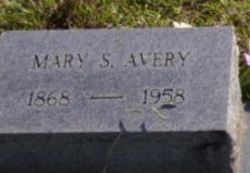 Mary Telethia <i>Simmons</i> Avery