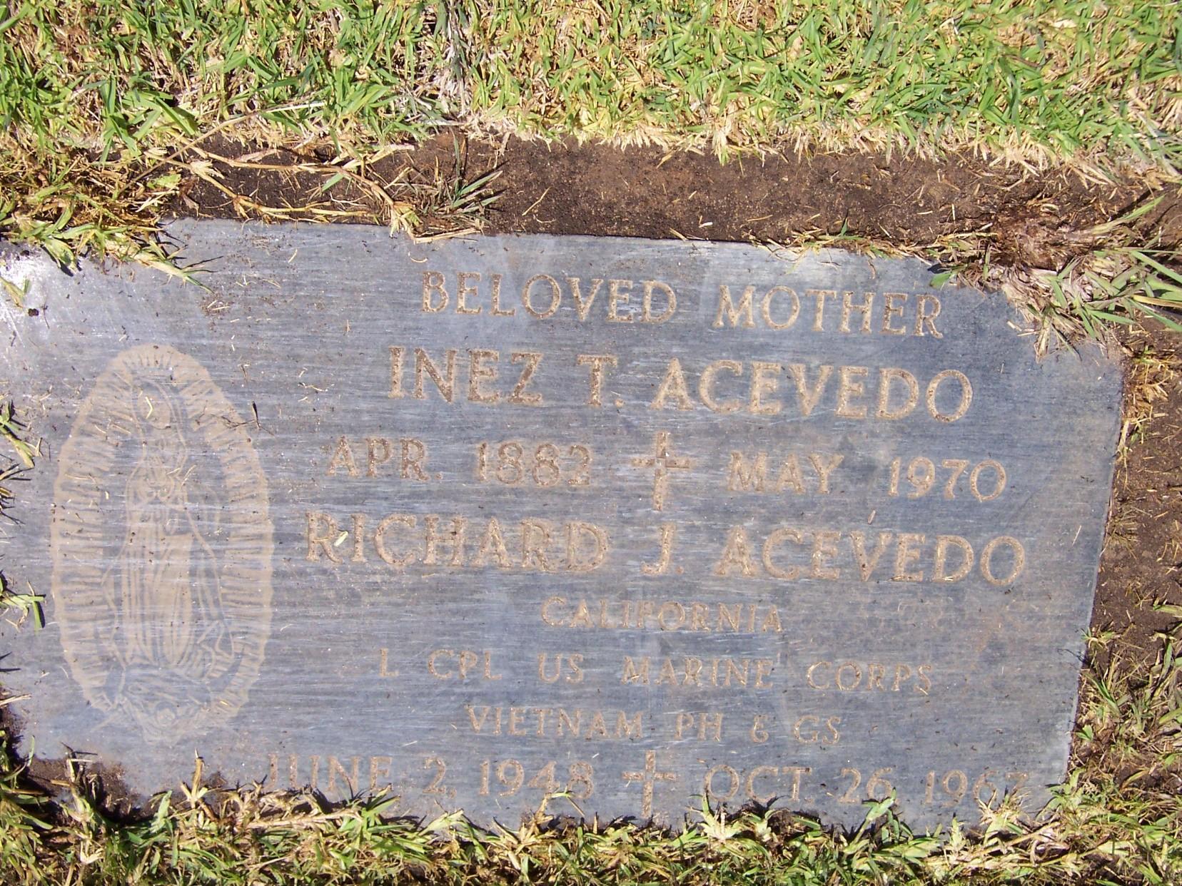 LCpl Richard Joseph Ace Acevedo