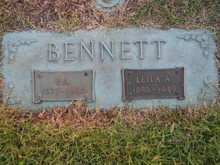 Leila Allene <i>Argo</i> Bennett