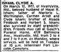 Clyde A. Isham