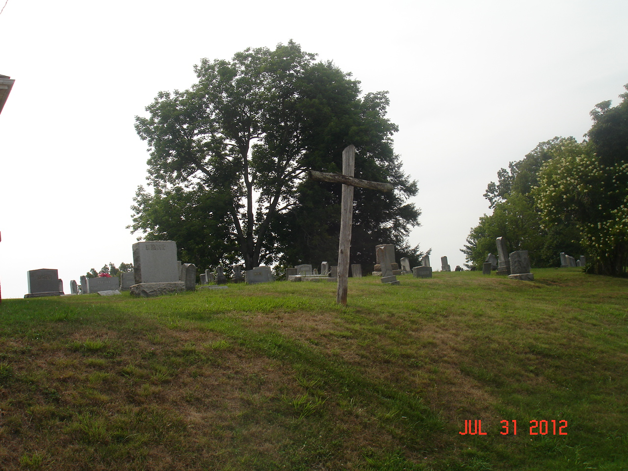 Burnt Hill Church Cemetery