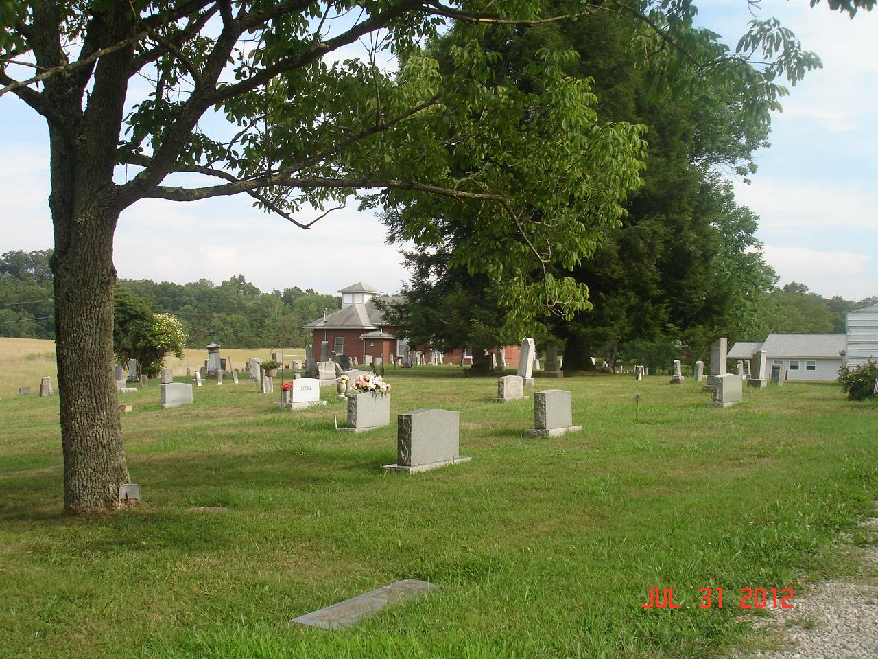 Burnt Hill Church Cemetery
