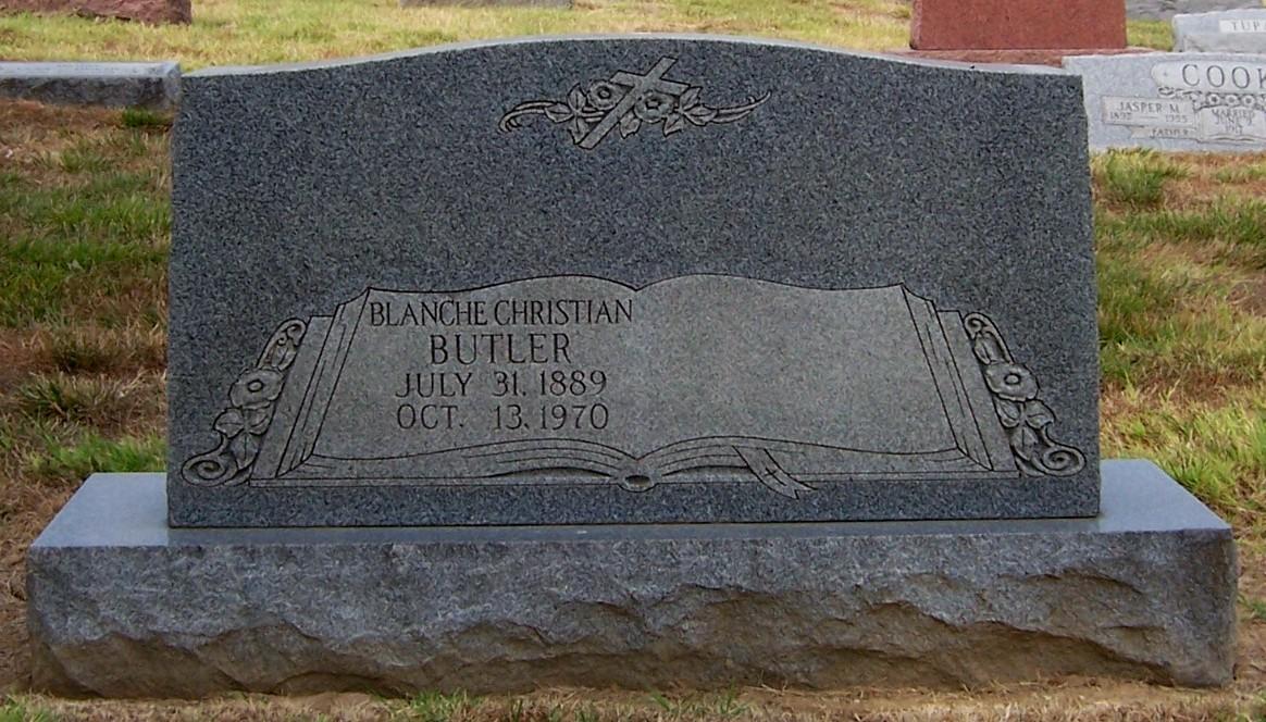Blanche Eva <i>Metcalf</i> Butler