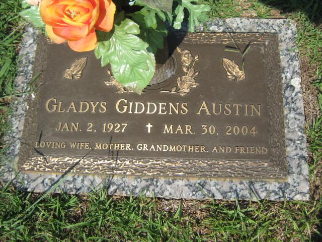 Gladys <i>Giddens</i> Austin