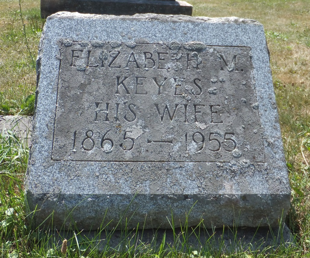 Elizabeth <i>Keyes</i> Grant