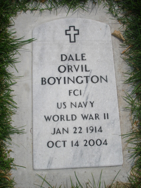 Dale Orvil Boyington